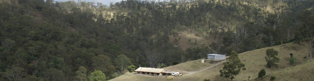 Mountain Creek Homestead accomodation is set high up with beautiful uninterrupted views of the surrounding mountains and valleys.